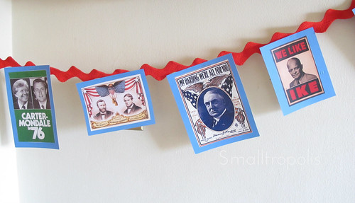 Presidents' Day party decor