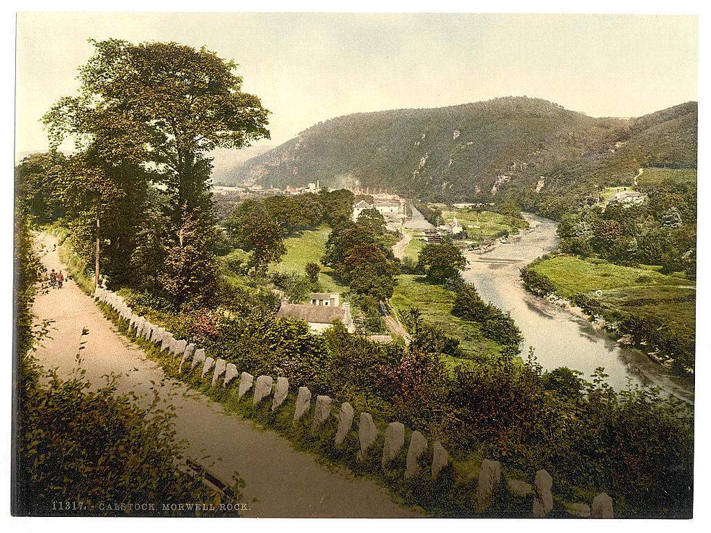 [Calstock, Morwell Rock, Cornwall, England]  (LOC)