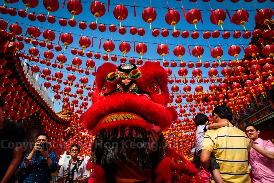 Lion Dance @ Thean Hou Temple , Malaysia