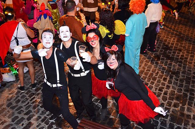 Mimes & Minnies, Carnival, Puerto de la Cruz, Tenerife