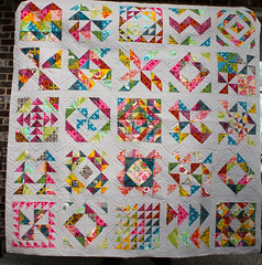 Best Bee Quilt Ever is quilted!