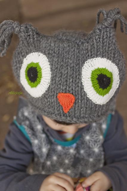 Gorro de búho / Owl hat