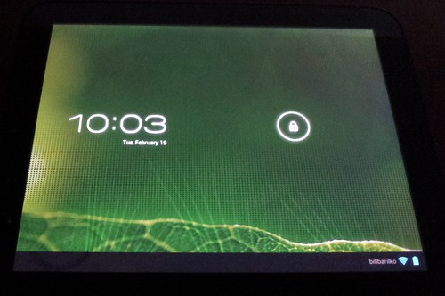 TouchPad running Android