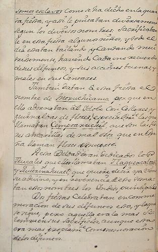 015-  Continuacion texto octava fiesta-Códice Veitia- Biblioteca Virtual Miguel de Cervantes