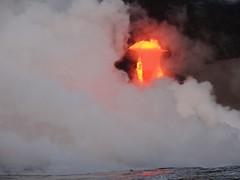 ハワイ島・ドロドロ溶岩
