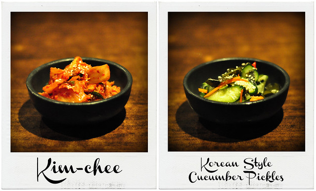 Kim Chee and Cucumber Pickles