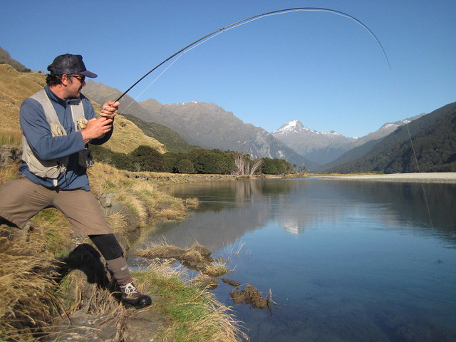 new zealand fly fishing cedar lodge
