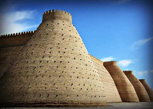 The walls of Bukhara