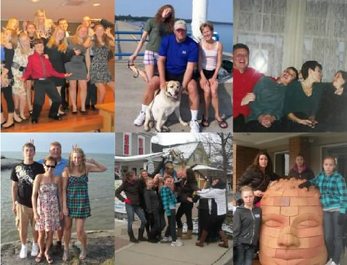 11 types of family photos: the Purposely Funny