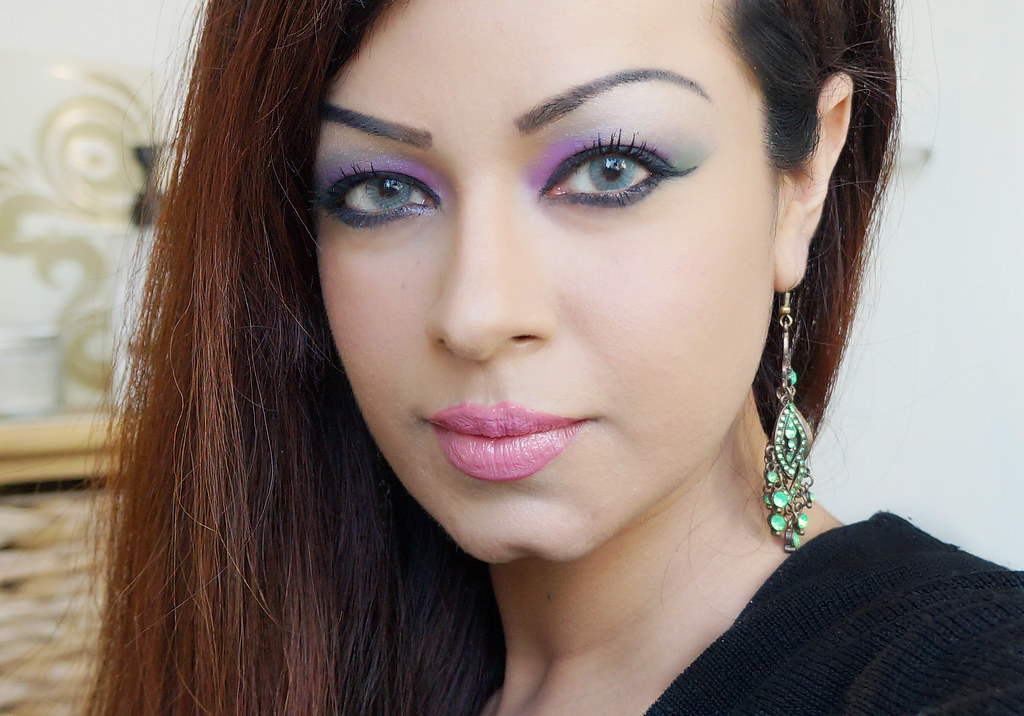 FOTD: Purple and Green