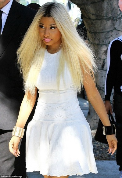 splurge-nicki-minajs-beverly-hills-alexander-mcqueen-textured-stretch-dress