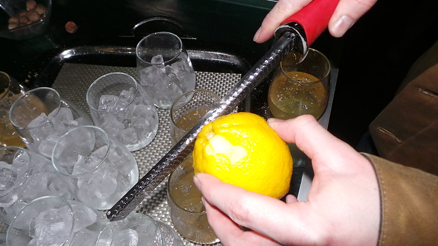 Grating lemon by Caroline on Crack
