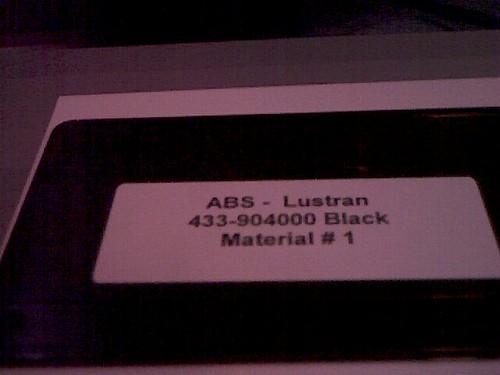 ABS Lustran 433-904000 Black