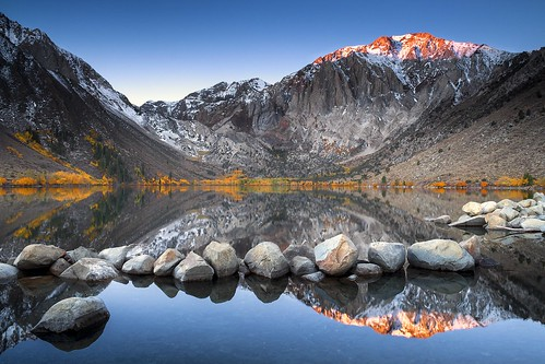 Convict  Lake Sunrise ~ Remix