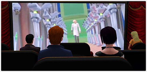 Sims 3 Store: Le Cinema Plumbob Now Available | SimsVIP