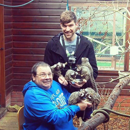 Tony, his dad and all the Marmosets!