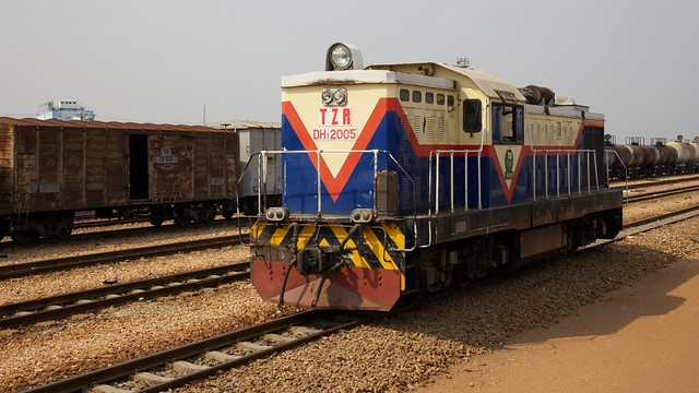 Tazara Railway Locomotive