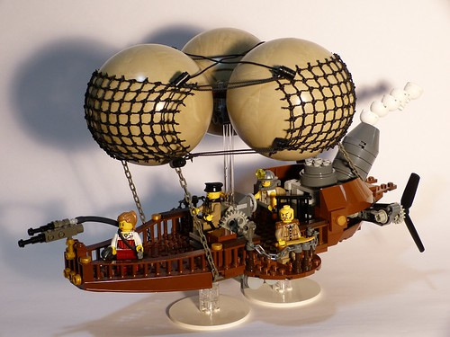 'Maiden's Delight' airship by Dodge...