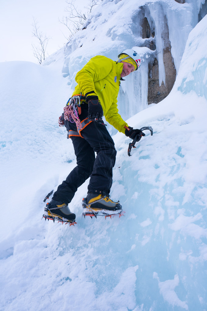 Anders | Proper Crampon use