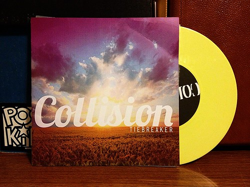 "Collision - Tiebreaker 7"" - Yellow Vinyl by Tim PopKid"