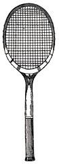 bicycle wheel(0.0), strings(1.0), sports equipment(1.0), rackets(1.0), net(1.0),