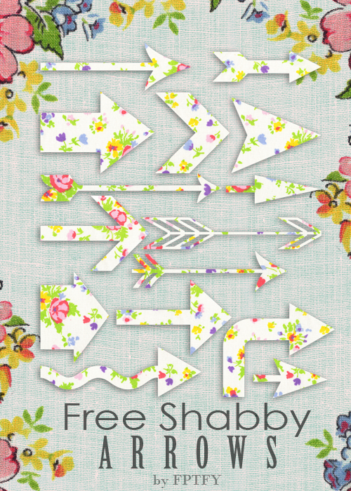 Free Shabby Arrows by FPTFY web ex