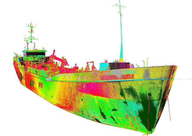 Lough Foyle - laser scan data