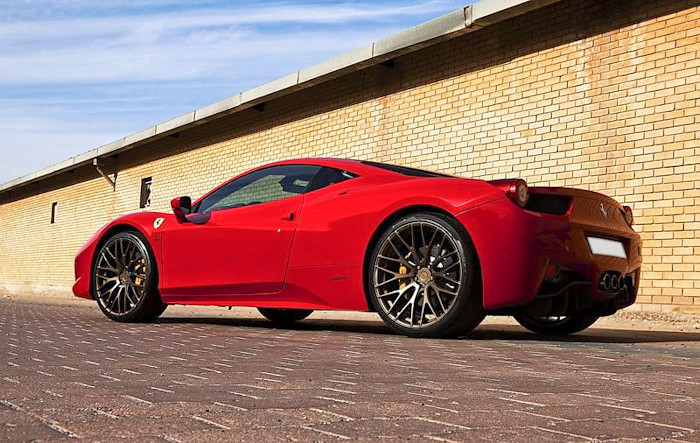 Mona's Ferrari 458 on ADV.1 10.01SL