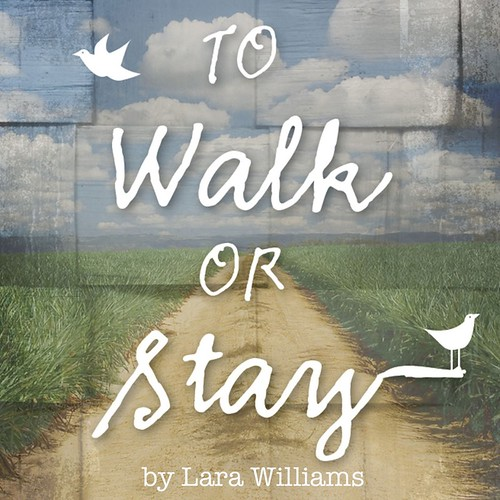 To Walk or Stay button