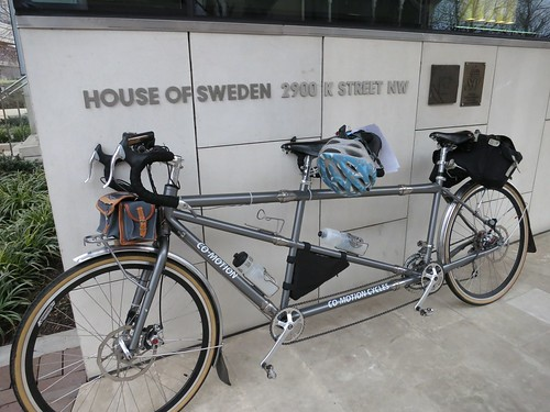 Our Co-Motion Tandem thinks about going to Sweden someday