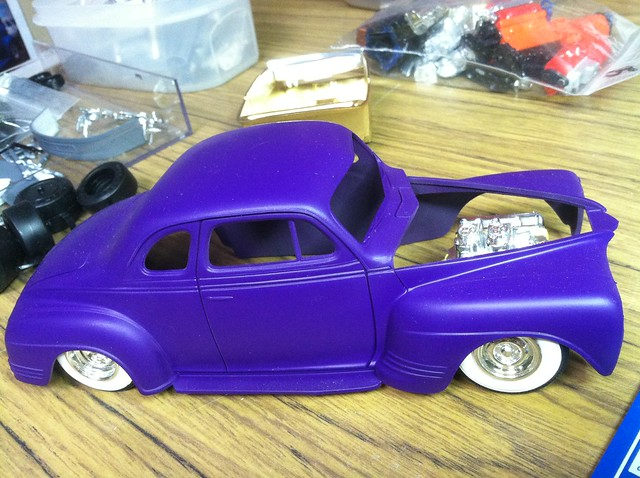 '41 Plymouth WIP