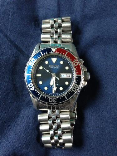 Vintage Seiko Divers Watch Retrobike