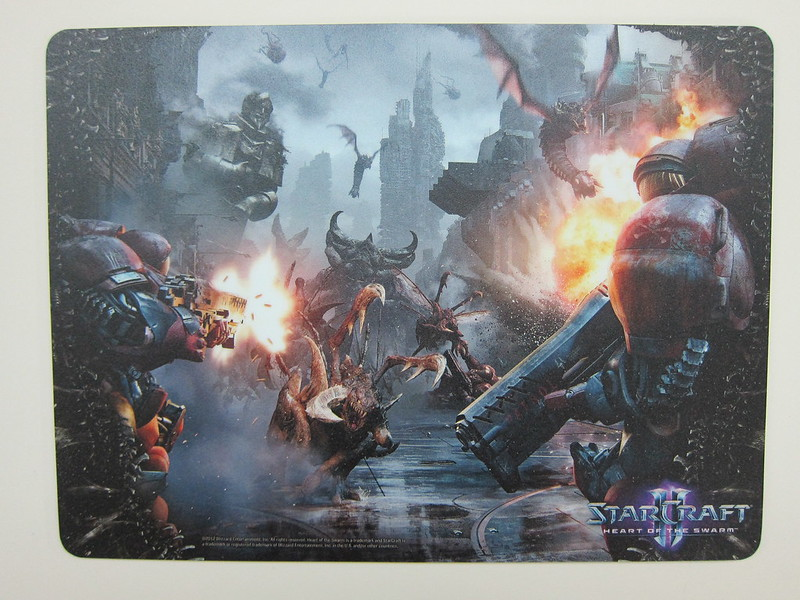 Zerg Rush Mouse Pad