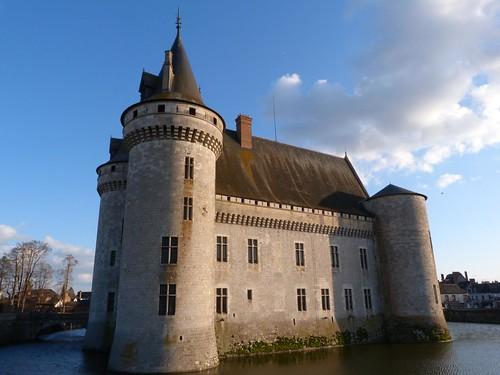 Foto del Castillo de Sully (Valle del Loira, Francia)