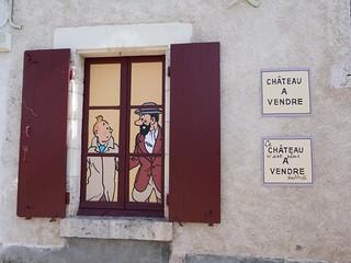 En Cheverny hay un museo dedicado a Tintín