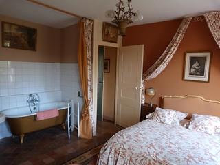 Nuestra habitación en Chateau de la Rue