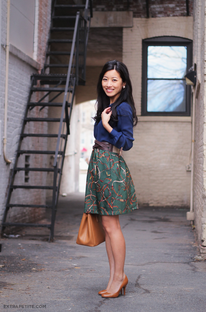 Ann taylor blouse diy skirt tutorial coming soon j crew factory