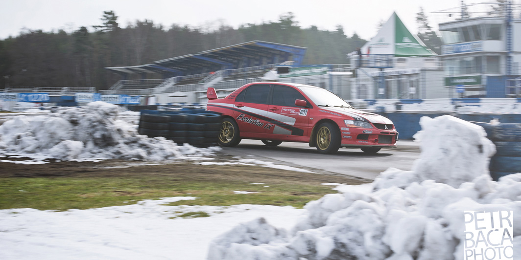 Mogul Driving Cup, Mitsubishi Lancer EVO IX, Sosnová