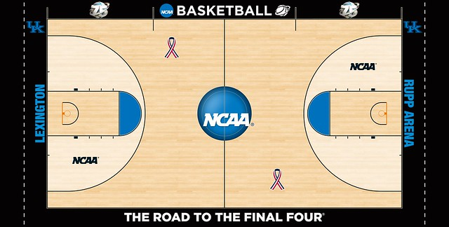 The top 8 court designs in college basketball the for Design your own basketball court