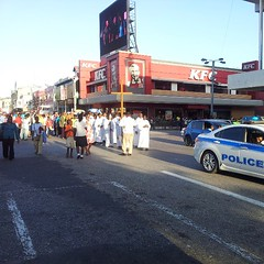 The Roman Catholic Church Marching on the Streets this Friday Evening