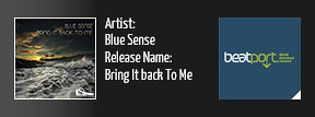 BSR0029: Blue Sense - Bring It Back To Me
