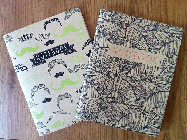 Paperchase taches and java notebooks