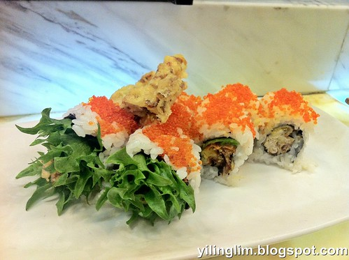 Softshell crab roll