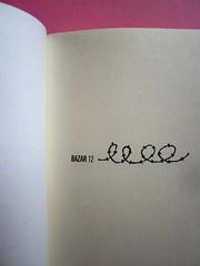 Denis Lachaud, Imparo il tedesco. 66THAND2ND 2013. Progetto grafico: Silvana Amatao, Marta B Dau. Alla cop.: disegno di Julia Binfield. Pagina dell'occhiello (part.), 1