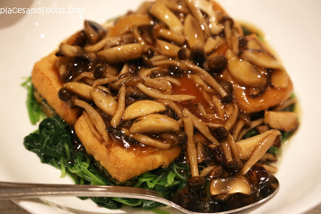imperial treasure tofu with mushroom