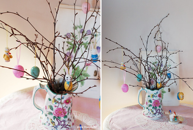 Little Easter Tree with Eggs