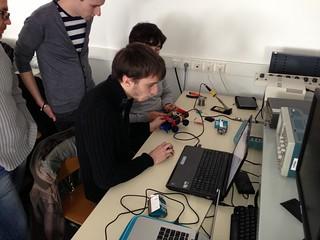Ateliers arduino et fabrication numérique IUT de St-Malo