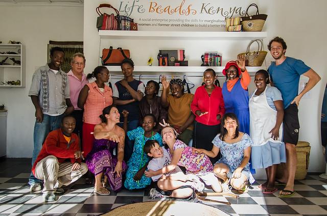 Life Beads Kenya Team