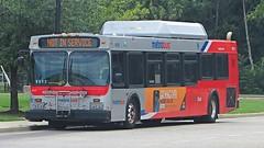 WMATA Metrobus 2005 New Flyer DE40LF #6021