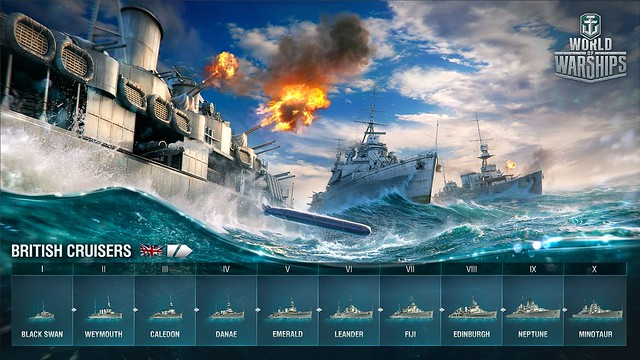 WoWS_British_cruisers_tech_tree